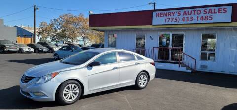 2011 Hyundai Sonata for sale at Henry's Autosales, LLC in Reno NV