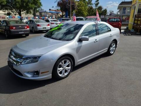 2012 Ford Fusion for sale at SWIFT AUTO SALES INC in Salem OR