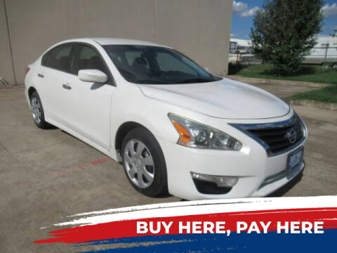 2013 Nissan Altima for sale at AUTO VALUE FINANCE INC in Stafford TX