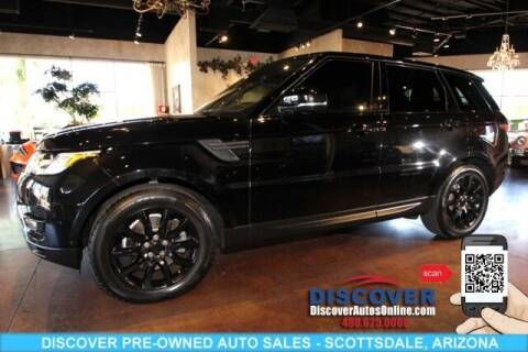 2017 Land Rover Range Rover Sport for sale at Discover Pre-Owned Auto Sales in Scottsdale AZ