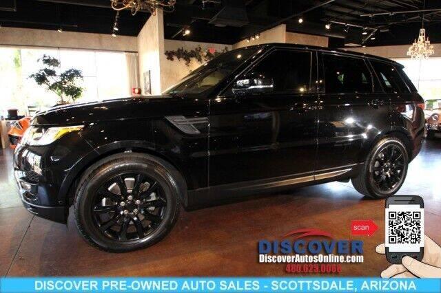 2017 Land Rover Range Rover Sport for sale in Scottsdale, AZ