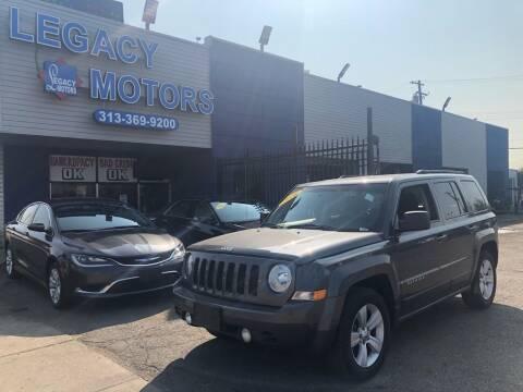 2016 Jeep Patriot for sale at Legacy Motors in Detroit MI
