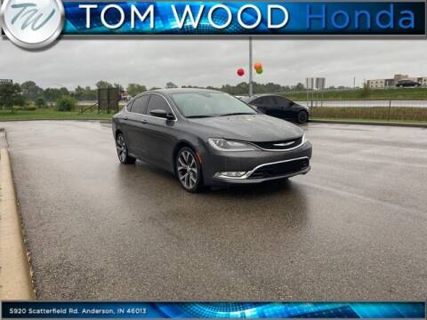 2015 Chrysler 200 for sale at Tom Wood Honda in Anderson IN