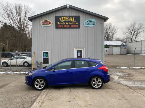2014 Ford Focus for sale at IDEAL TRUCK & AUTO LLC in Coopersville MI