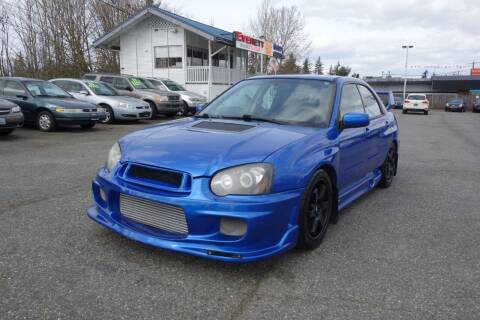 2004 Subaru Impreza for sale at Leavitt Auto Sales and Used Car City in Everett WA