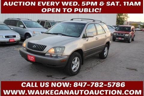 1999 Lexus RX 300 for sale at Waukegan Auto Auction in Waukegan IL