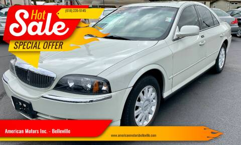 2004 Lincoln LS for sale at American Motors Inc. - Belleville in Belleville IL