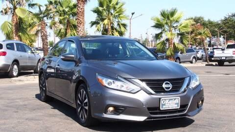 2018 Nissan Altima for sale at Okaidi Auto Sales in Sacramento CA