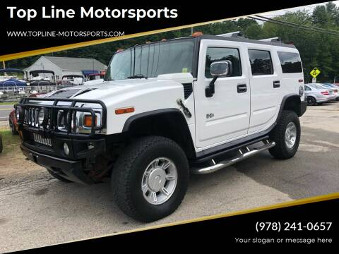 2004 HUMMER H2 for sale at Top Line Motorsports in Derry NH