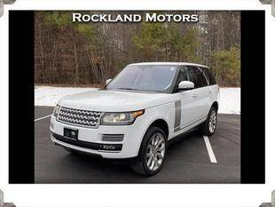 2015 Land Rover Range Rover for sale at Rockland Automall - Rockland Motors in West Nyack NY