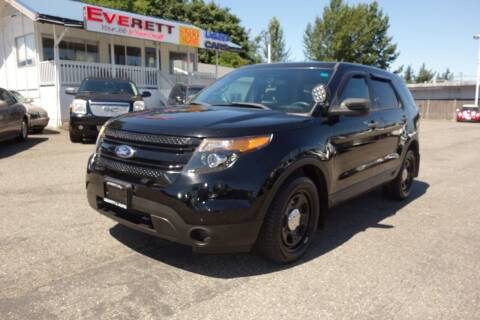 2014 Ford Explorer for sale at Leavitt Auto Sales and Used Car City in Everett WA