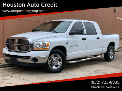 2006 Dodge Ram Pickup 2500 for sale at Houston Auto Credit in Houston TX