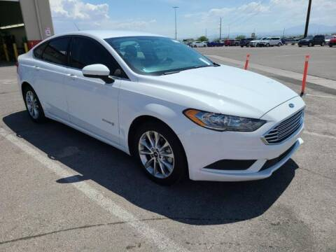 2017 Ford Fusion Hybrid for sale at A.I. Monroe Auto Sales in Bountiful UT
