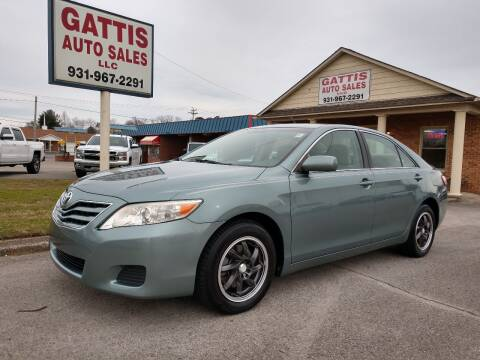 2010 Toyota Camry for sale at Gattis Auto Sales LLC in Winchester TN