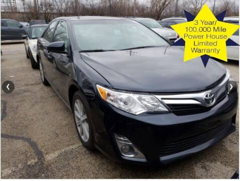 2012 Toyota Camry for sale at 355 North Auto in Lombard IL