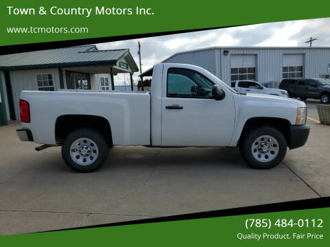 2012 Chevrolet Silverado 1500 for sale at Town & Country Motors Inc. in Meriden KS