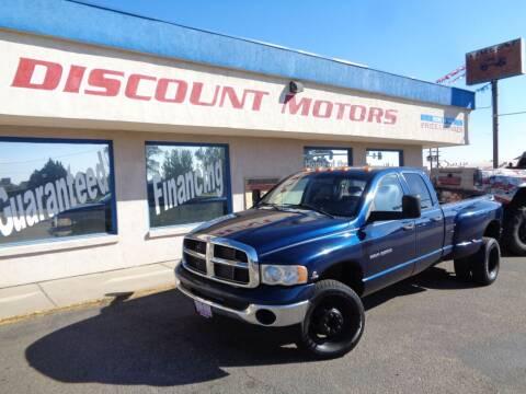 2005 Dodge Ram Pickup 3500 for sale at Discount Motors in Pueblo CO