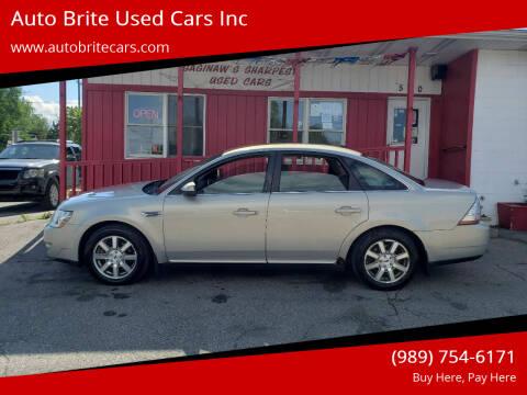 2009 Ford Taurus for sale at Auto Brite Used Cars Inc in Saginaw MI
