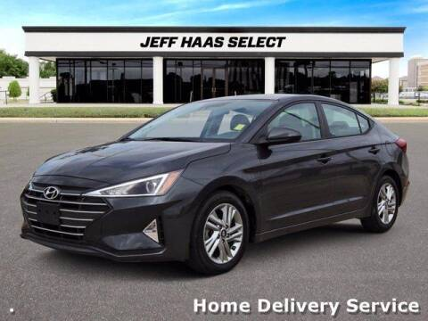 2020 Hyundai Elantra for sale at JEFF HAAS MAZDA in Houston TX