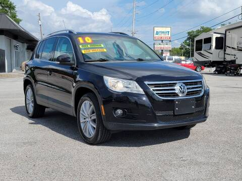 2010 Volkswagen Tiguan for sale at AutoMart East Ridge in Chattanooga TN