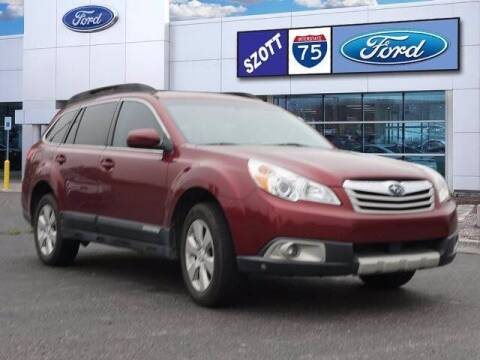 2011 Subaru Outback for sale at Szott Ford in Holly MI