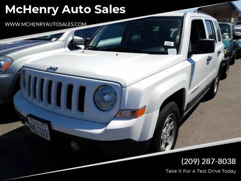 2011 Jeep Patriot for sale at MCHENRY AUTO SALES in Modesto CA