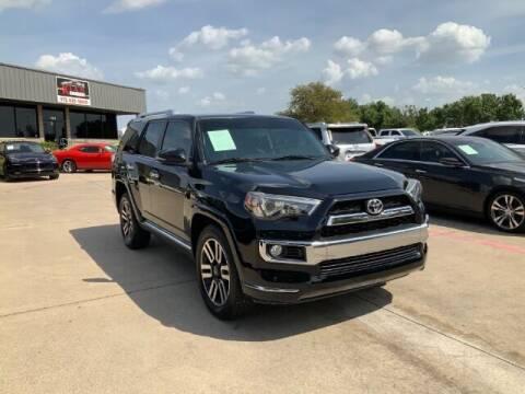 2016 Toyota 4Runner for sale at KIAN MOTORS INC in Plano TX