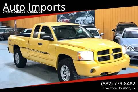 2006 Dodge Dakota for sale at Auto Imports in Houston TX