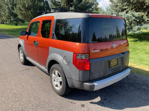 2005 Honda Element for sale at BELOW BOOK AUTO SALES in Idaho Falls ID