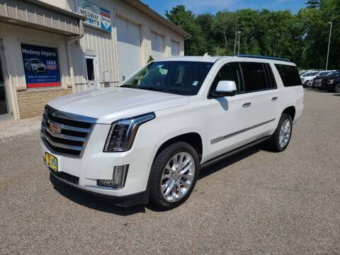 2018 Cadillac Escalade ESV for sale at Medway Imports in Medway MA