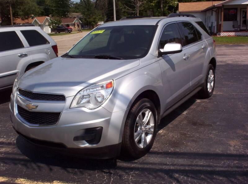 2015 Chevrolet Equinox for sale at LAKESIDE MOTORS LLC in Houghton Lake MI