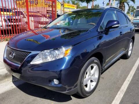 2010 Lexus RX 350 for sale at Ournextcar/Ramirez Auto Sales in Downey CA