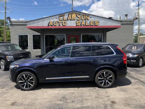 2019 Volvo XC90 for sale at Clawson Auto Sales in Clawson MI
