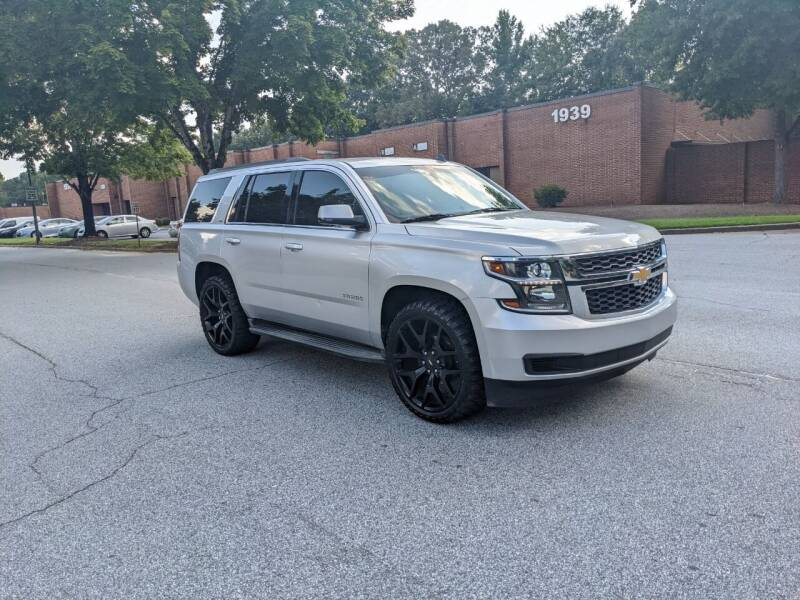 2015 Chevrolet Tahoe for sale at United Luxury Motors in Stone Mountain GA