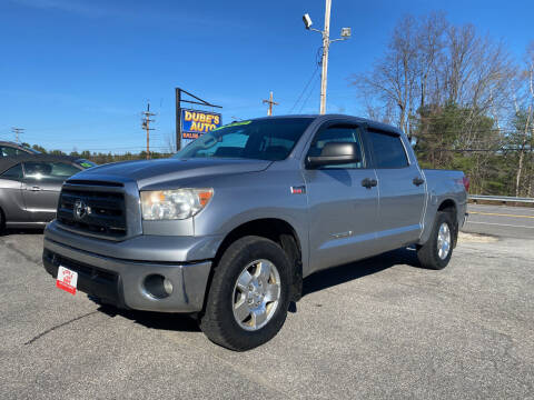 2011 Toyota Tundra for sale at Dubes Auto Sales in Lewiston ME