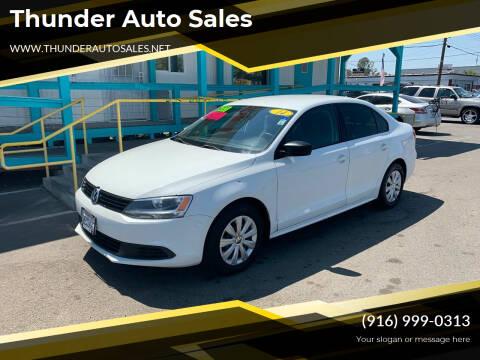 2014 Volkswagen Jetta for sale at Thunder Auto Sales in Sacramento CA