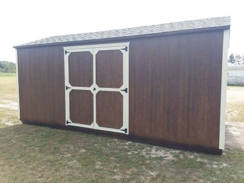 2021 BMBPortableBuilding's  10x20Side UtilityGable for sale at Dave's Auto Sales & Service in Weyauwega WI