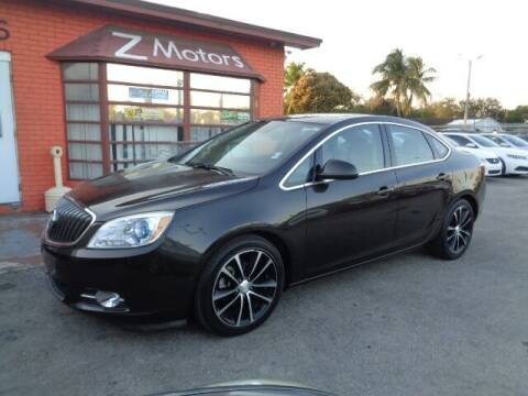 2016 Buick Verano for sale at Z MOTORS INC in Hollywood FL
