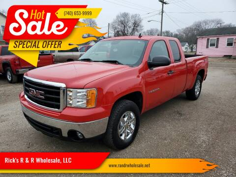 2008 GMC Sierra 1500 for sale at Rick's R & R Wholesale, LLC in Lancaster OH