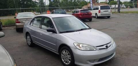 2005 Honda Civic for sale at Superior Motors in Mount Morris MI