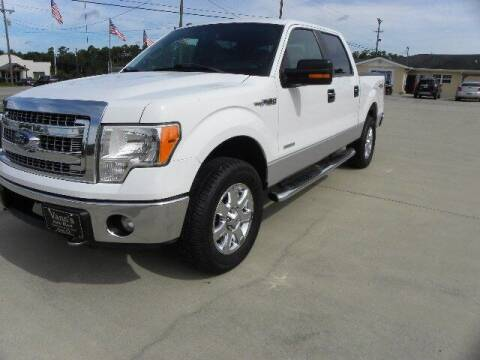 2013 Ford F-150 for sale at VANN'S AUTO MART in Jesup GA