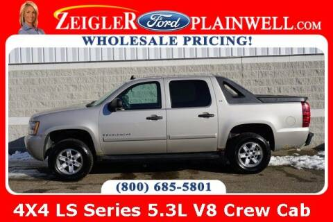 2007 Chevrolet Avalanche for sale at Zeigler Ford of Plainwell- Jeff Bishop in Plainwell MI