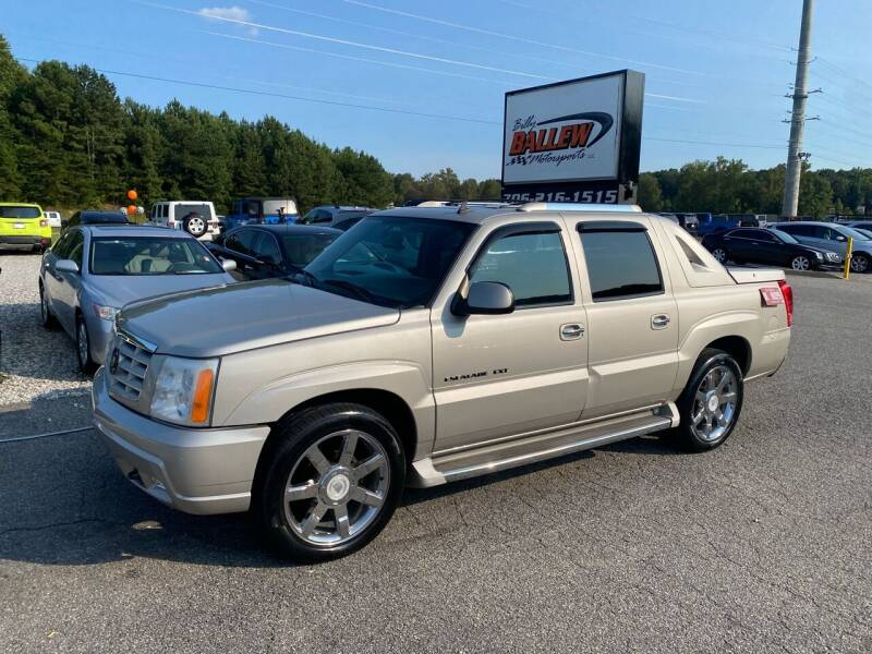 2006 Cadillac Escalade EXT for sale at Billy Ballew Motorsports in Dawsonville GA