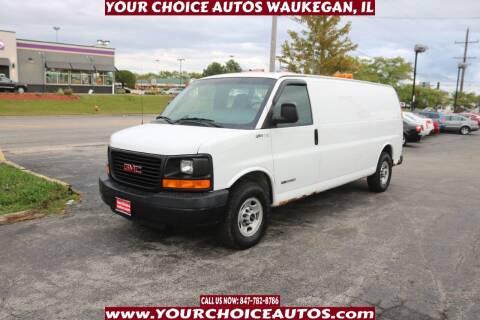 2003 GMC Savana Cargo for sale at Your Choice Autos - Waukegan in Waukegan IL
