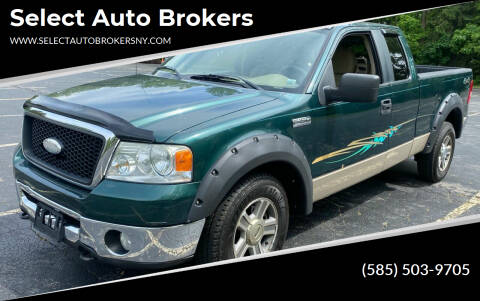 2007 Ford F-150 for sale at Select Auto Brokers in Webster NY