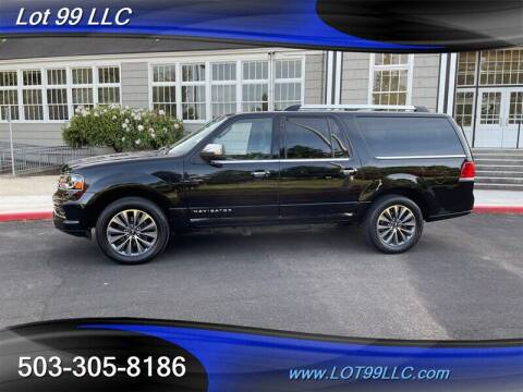 2017 Lincoln Navigator L for sale at LOT 99 LLC in Milwaukie OR