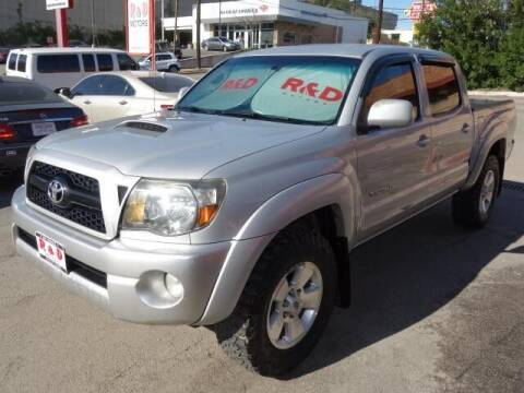 2011 Toyota Tacoma for sale at R & D Motors in Austin TX