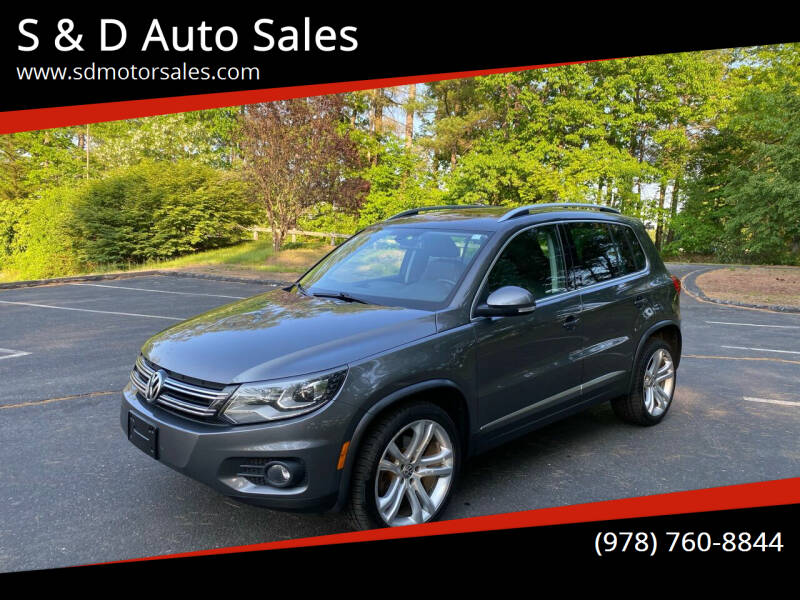2013 Volkswagen Tiguan for sale at S & D Auto Sales in Maynard MA