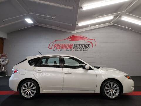2008 Subaru Impreza for sale at Premium Motors in Villa Park IL
