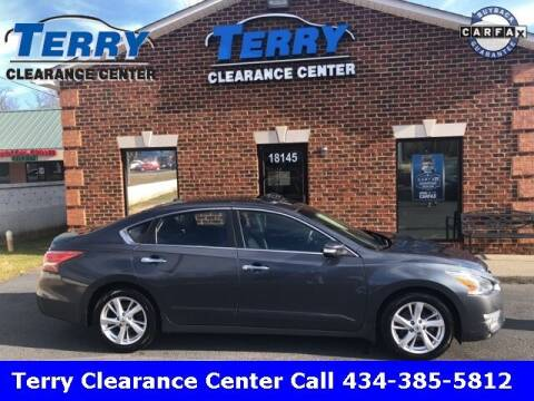 2013 Nissan Altima for sale at Terry Clearance Center in Lynchburg VA